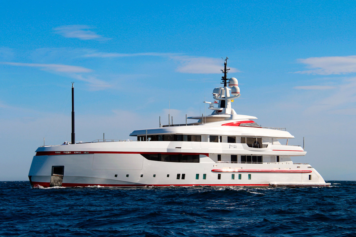 Forever One - Nautipaints Superyacht paint Services