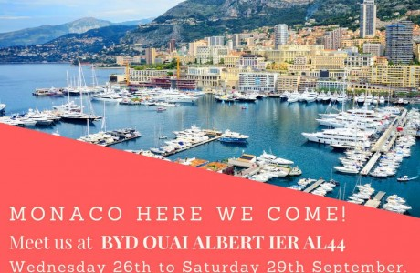Monaco here we come!  -